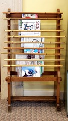 Newspaper rack - Cleveland Public Library (Tim Evanson) Tags: newspaperrack newspapers clevelandpubliclibrary publiclibrary library readingroom cleveland