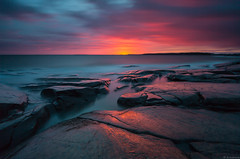 Storm_ (JLindroos) Tags: seascape sky rocks clouds long exposure colorful horizon glow lee filters big stopper canon zeiss pori finland jlindroos