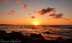 Sunset (Francesco Impellizzeri) Tags: trapani sicilia clouds sunset