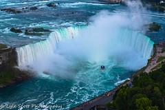 Niagara Falls ON CA (BuccaneerBoy) Tags: travel family flowers trees summer vacation ontario canada nature water eh river fun niagarafalls waterfall natural scenic july bridalveilfalls americanfalls skylontower 2015