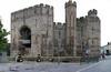 Whistlestop castle (beqi) Tags: panorama castle history wales stonework caernarfon photoshoppery 2015