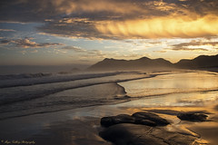 Sunset (Margarita Genkova) Tags: yellow brasil riodejaneiro clouds orrange