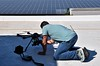 Solar Panel Drone Shoot_Vox Pop_Will G. Nagel_ Will G. Nagel_001 (wgnagel_uci) Tags: university flight uav uci ucirvine drone voxpop behindthecamera