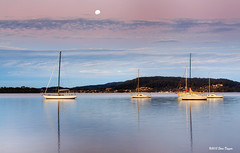 0S1A7708enthuse (Steve Daggar) Tags: sunset panorama marina boats yacht waterscape tascott woywoy panno watersc