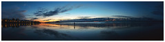 St Malo, France - 20150827 (Rod Maurice - Lame de Son) Tags: sunset panorama france beach canon brittany alone mark pano iii 5d sillon plage saintmalo coucherdesoleil stmalo panoramique