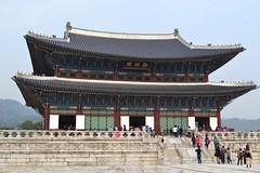 Geunjeongjeon Hall, Gyeongbokgung (eaglelam89) Tags: travel asia korea seoul