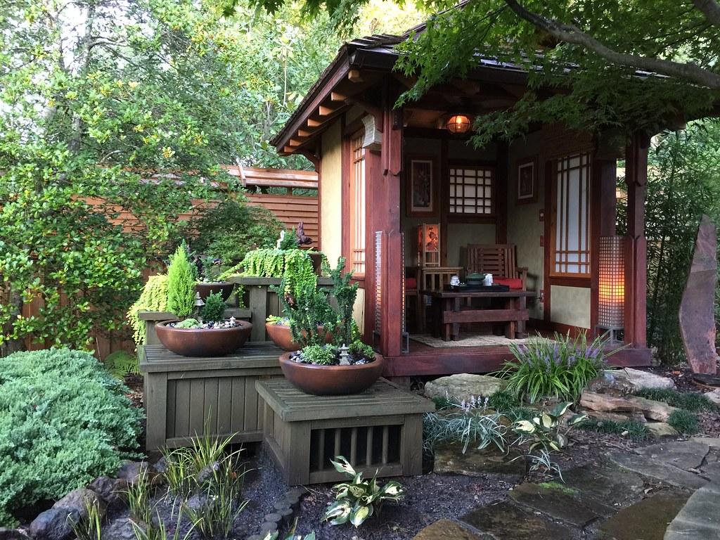 Tea House (My DIY Garden) Tags: House Garden Asian Japanese Diy Backyard Tea