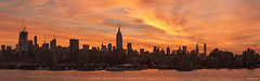 Pre sunrise colors engulfing Midtown and Chealsea (dansshots) Tags: panorama skyscraper sunrise morninglight skyscrapers pano worldtradecenter panoramic financialdistrict empirestatebuilding empirestate wtc lowermanhattan 1w earlymorninglight nycpanorama sunrisecolor newyorkcitypanorama sunrisecolors nikond3 1worldtrade oneworldtrade empirestateofmind dansshots