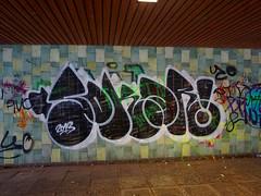 Graffiti in Mannheim 2015 (kami68k -all over-) Tags: up graffiti illegal mannheim bombing throw throwup 2015 sokar