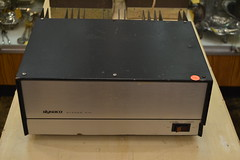"""BIG, HEAVY, DYNACO STEREO 410 POWER AMPLIFIER. • <a style=""""font-size:0.8em;"""" href=""""http://www.flickr.com/photos/51721355@N02/21856099798/"""" target=""""_blank"""">View on Flickr</a>"""