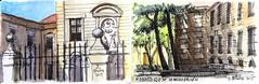 Apuntes del Monasterio de la Encarnación. (P.Barahona) Tags: madrid arquitectura pluma acuarela monasterio urbansketchers