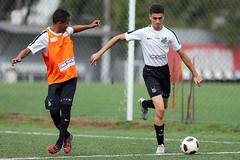 Wagner Leonardo e Maxwell (Santos Futebol Clube) Tags: ct santos fc rei sub17 treino pel