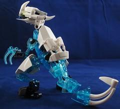 Ice Kirkan (Monarth the Contrarian) Tags: lego raptor bionicle kirkan kirkanraptors