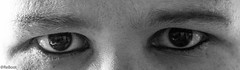 Pain (RiikkaBee) Tags: blackandwhite bw blackwhite pain eyes stigma givingup mentalillness