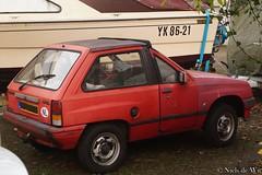 Shortened Opel Corsa A (NielsdeWit) Tags: short wageningen modified opel corsa shortened opelcorsa a opelcorsaa corsaa nielsdewit