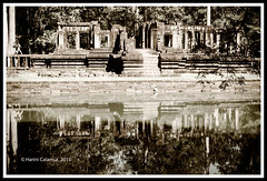 Angkor Thom - remains of the day (calamur) Tags: architecture cambodia buddhist religion temples siemreap buddhisttemple angkorthom harinicalamur nikond7000