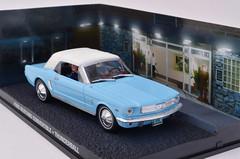 Ford Mustang Convertible - Thunderball (nighteye) Tags: ford convertible mustang 007 jamesbond thunderball 143 jamesbondcarcollection