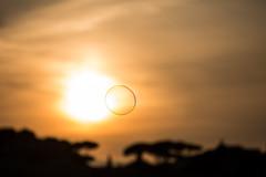 Ode all'effimero (sensdessusdessous) Tags: tramonto bolladisapone effimero