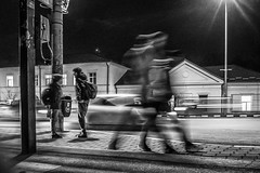 shadows (NicolaeSbiera) Tags: street boys night fuji fujifilm xf1