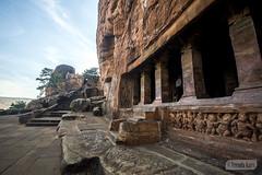 Badami caves (Vinda Kare) Tags: india ancient karnataka badami temple caves vatapi bagalkot sandstone architecture