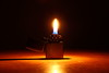 Light it up! (Chneeman) Tags: zippo fire darkness tabletopphotography