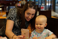 snapchat lesson (Seakayem) Tags: sony slt amount alpha a99 minolta 50mm f17 child toddler canberra belconnen jamison snapchat teacher iphone
