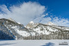 Bradley Lake (kevin-palmer) Tags: grandtetonnationalpark national park wyoming winter snow snowy cold december nikond750 snowshoeing blue sky sunny sunshine grandteton clouds tetonmountains tamron2470mmf28