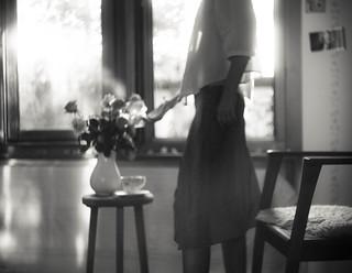 Quand la douceur de la Rose  dépose en nous le parfum de son âme...
