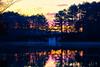 Apricot Sink (axi11a) Tags: atl atlanta localparks parks stonemountain sunrise sunset bridge strawberry peach apricot reflection