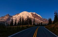 Mountain High Way (Philip Kuntz) Tags: holidaytravel mtrainier sunrise sunriseroad dawn daybreak sunup scenichighway volcano mtrainiernationalpark washington