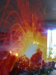 irruption de l'Etna dans un appartement (jade-jade 2 de retour) Tags: etna composition creative irruption appartement balcon photo