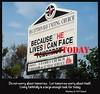 today (Leonard J Matthews) Tags: today tomorrow helives church sign deceptionbay queensland australia mythoto matthew634 bible scripture quote verse christianity jesus provoke challenge
