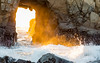 Golden Light (Dave Miller Photography) Tags: water landscape bigsur pfeifferbeach keyholearch sea waves rocks