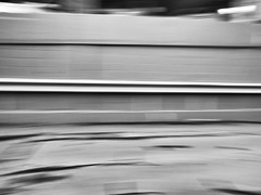 A quick pan (George Stastny. Photographer.) Tags: panning urban patterns alleyway blur motionblur movement dizzy
