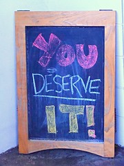 You Deserve It (knightbefore_99) Tags: vancouver eastvan callister tasting room bar local craft beer bc west coast board message you deserve sign cool