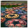 Lotus flowers made of used life jackets (camillakarst) Tags: lifejackets lotusflowers aiweiwei 21erhaus installation art exhibition schlossbelvedere belvedere wien vienna austria österreich