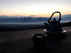 Miles Away Hot Tea with Mountain in Pai Yunlai Maehongson Thailand Chilling (Iamacherry) Tags: milesaway hottea mountain pai yunlai maehongson thailand chilling