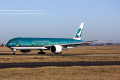 CDG - Boeing 777-367ER (B-KPB) Cathay Pacific (Aéro'Passion) Tags: the spirit hong kong livery aéropassion airport aircraft airlines aéroport cdg lfpg photography photos parisroissycharlesdegaulle passage piste ponta1 viragemétéo 60d canon natw boeing b777 b777367er 777 777367er bkpb cathay pacific
