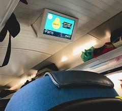 So fun to ride the Chunnel high-speed train to Paris! (CopyCatFilms) Tags: train chunnel paris london travel fast willesborough england unitedkingdom gb
