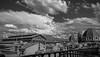 Free Masonry (Voyen_Ras) Tags: rooftops travel explore sky blackwhite bw firenze italy discover duomo sanlorenzo architecture art love trip summer