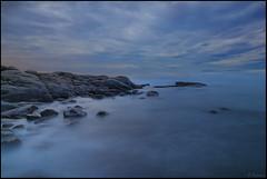 Entre el cielo y el mar (antoniocamero21) Tags: color foto sony amanecer azul agua rocas paisaje marina planes roques calonge girona catalunya