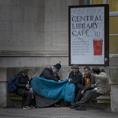 Café Society (JEFF CARR IMAGES) Tags: manchester northwestengland towncentres streetlife shameless