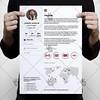 White Resume – Free PSD Template (psdmarket) Tags: business clean creative cv editable freepsd ob modern professional psd resume simple stationary psdtemplate