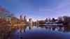 Harlem Meer after the snow (sphaisell) Tags: new york newyork us unitedstates centralpark harlemmeer lakehouse landscape