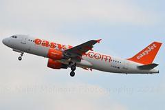 easyJet UK G-EZWD Airbus A320-214 cn/5249 @ Polderbaan EHAM / AMS 14-10-2016 (Nabil Molinari Photography) Tags: easyjet uk gezwd airbus a320214 cn5249 polderbaan eham ams 14102016