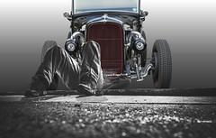 Grease Monkey (swong95765) Tags: repair mechanic hobby fixing car rod dedication passion
