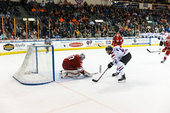 "Missouri Mavericks vs. Allen Americans, March 3, 2017, Silverstein Eye Centers Arena, Independence, Missouri.  Photo: John Howe / Howe Creative Photography • <a style=""font-size:0.8em;"" href=""http://www.flickr.com/photos/134016632@N02/32430579484/"" target=""_blank"">View on Flickr</a>"