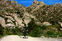Shiny dust, sweat and rocks (egotoagrimi) Tags: ikaria aegean greece ικαρία kalou bicycle april kavopapas rocks καλού wildcamping wildswimming nudebathing geology sport