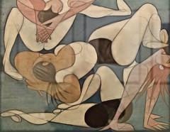Untitled (1947) - José de Almada Negreiros (1893-1970) (pedrosimoes7) Tags: josédealmadanegreiros caloustegulbenkianmuseum moderncollection lisbon portugal creativecommons cc musée museum museu arttate ✩ecoledesbeauxarts✩
