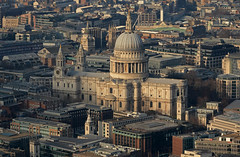 Surrounded (Andy WXx2009) Tags: landscape outdoors artistic city cityscape skyline street streetphotography cathedral church monument history culture tourism building architecture stpauls dome religion london england europe capital landmark